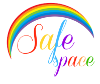LGBT friendly, safe space, rainbow
